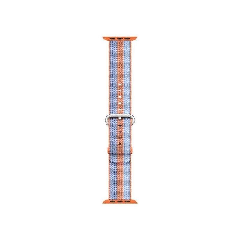 Bracelete em tecido de nylon (38 mm) - Laranja (Vitrine)