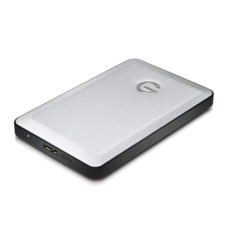 G-Technology - G-DRIVE mobile - USB 3.0 (7200rpm) - 1TB - Prateado
