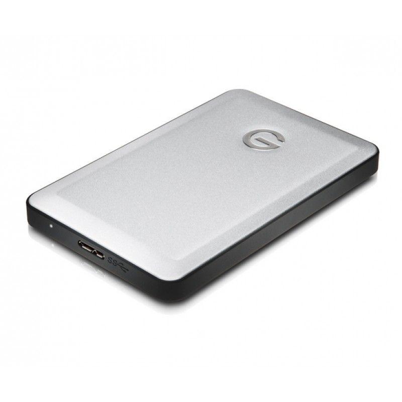 G-Technology - G-DRIVE mobile - USB 3.0, 1TB - Prateado