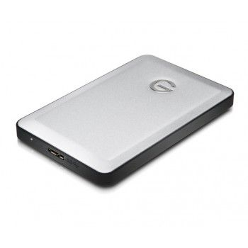 G-Technology - G-DRIVE mobile - USB 3.0, 1TB - Prateado