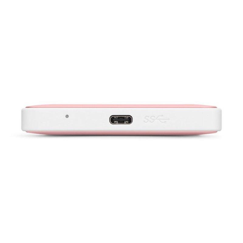 G-Technology G-Drive mobile USB-C - 1TB - Rosa Dourado