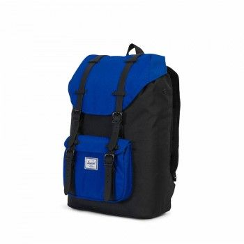 Mochila Herschel Little America Mid Vol (17 L) - Black