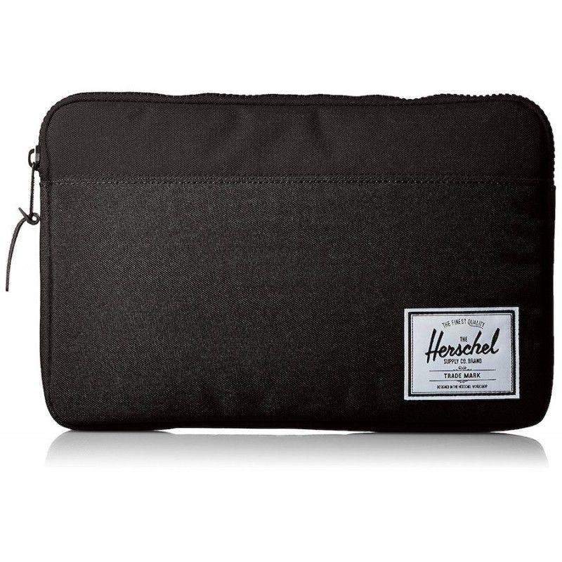 "Bolsa Herschel Anchor Sleeve 12"" - Preto"