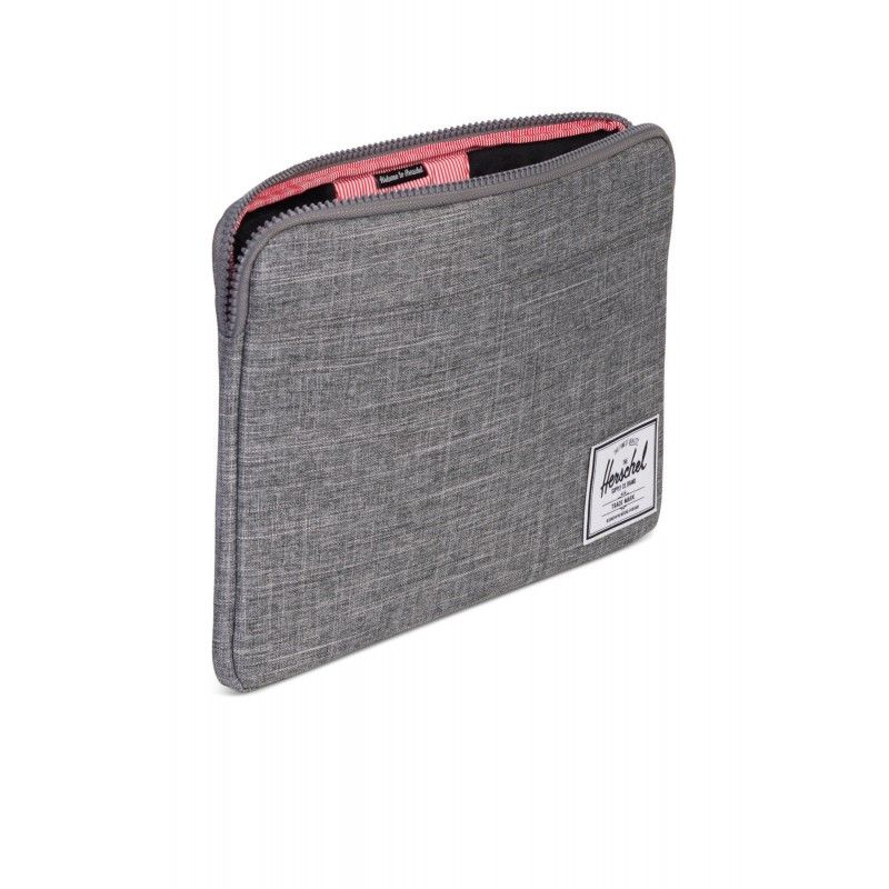 "Sleeve Herschel Anchor MacBook 12"" - Raven Crosshatch"