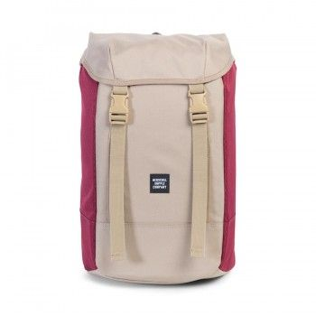 Mochila Herschel Iona - Brindle/Windsor Wine