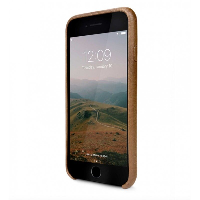 Capa em pele Twelve South Relaxed para iPhone 8 / 7 - Cognac