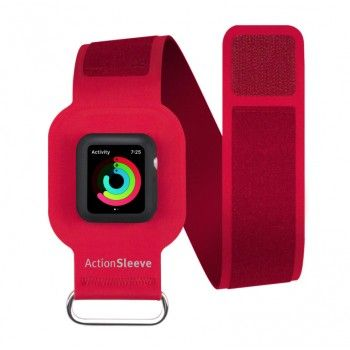 Twelve South - ActionSleeve Apple Watch 38mm L - Encarnado