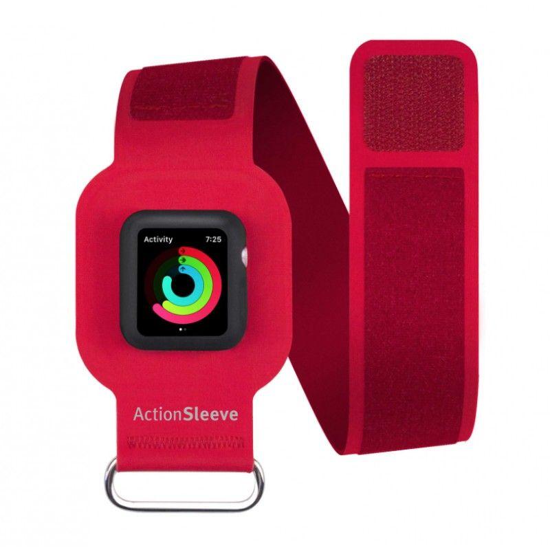Twelve South - ActionSleeve Apple Watch 38 a 41 mm L - Vermelho