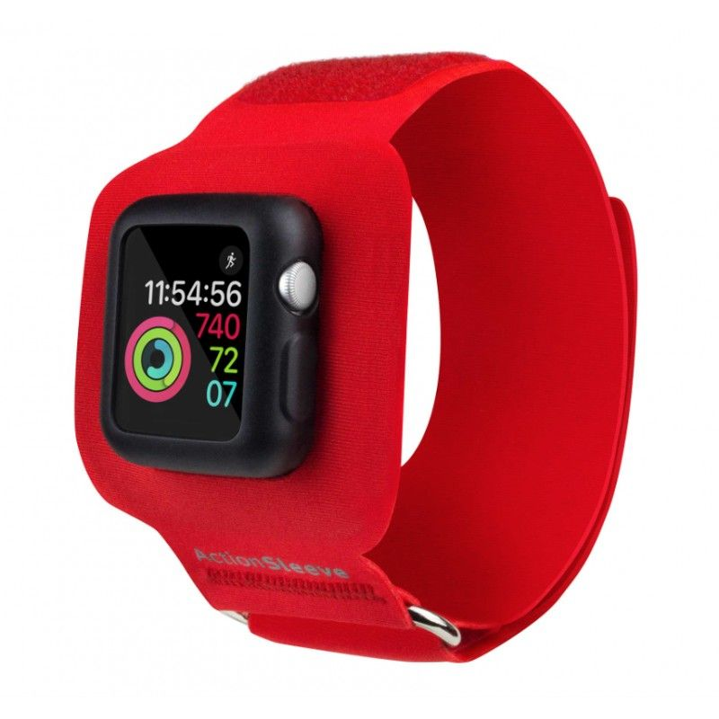 Twelve South - ActionSleeve Apple Watch 42mm L - Encarnado