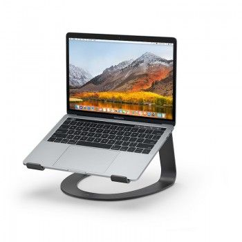 Suporte Tweleve South Curve para MacBook - Preto Mate