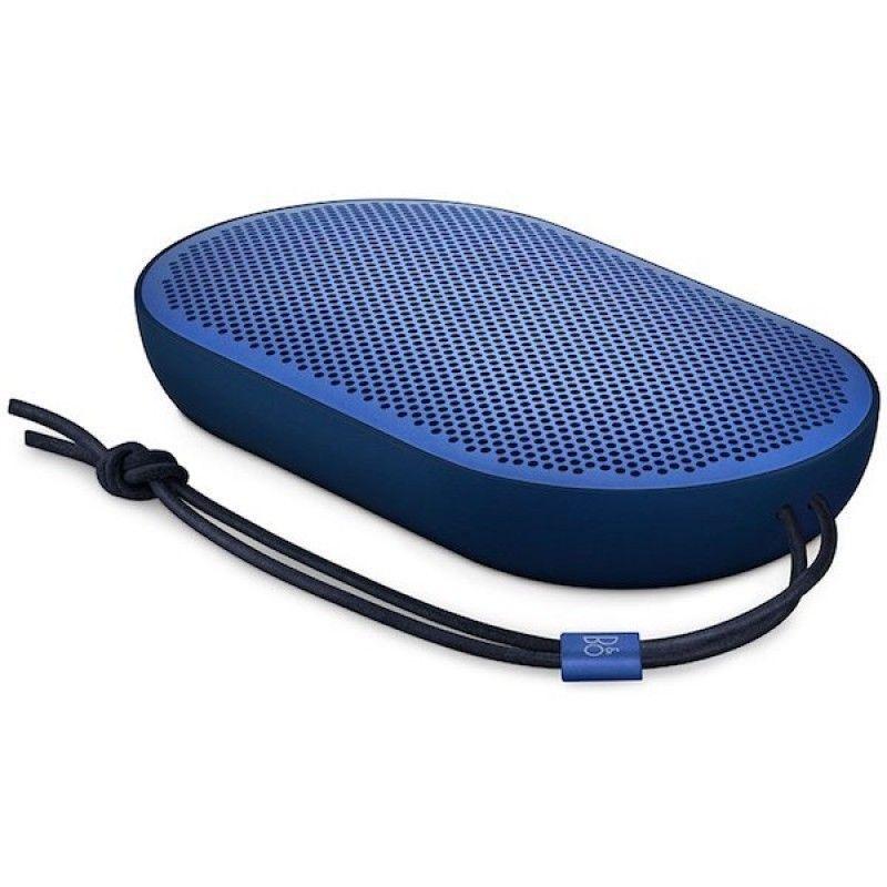 Coluna portátil sem fios B&O Beoplay P2 - Azul
