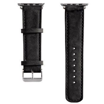 Bracelete Hama Velour para Apple Watch 38mm - Preto