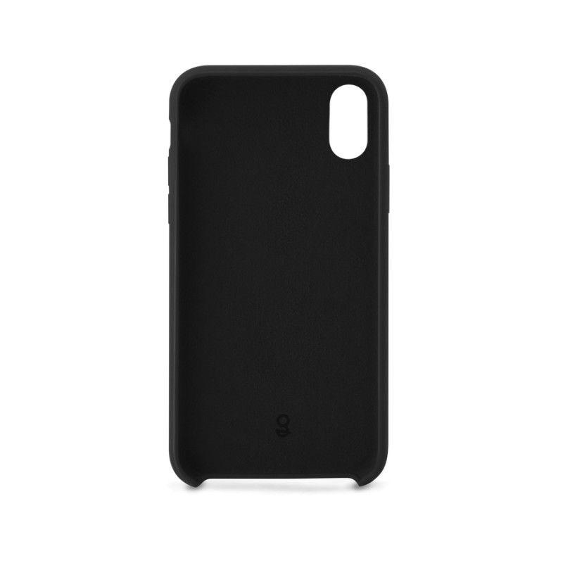 Capa em silicone para iPhone X/XS GMS essentials - Preto