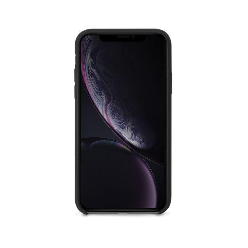 Capa em silicone para iPhone XR GMS essentials - Preto