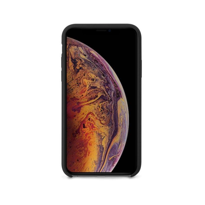 Capa em silicone para iPhone XS Max GMS essentials - Preto