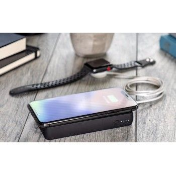 Powerbank Mophie com carregamento wireless 10.000mAh Preto