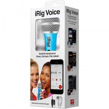 Microfone iRig Voice - Azul