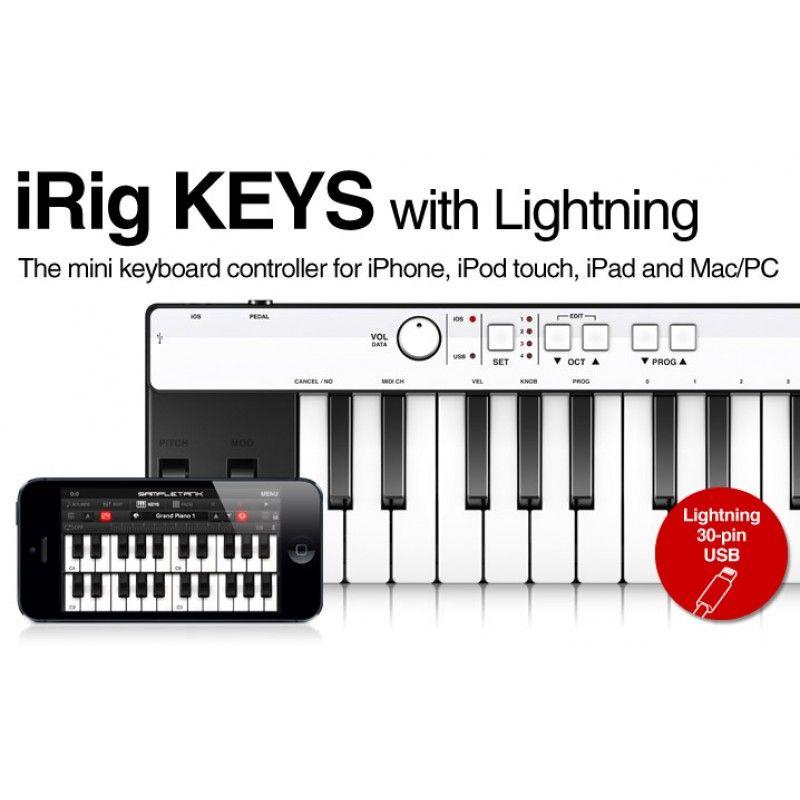 Teclado iRig Keys (Lightning)