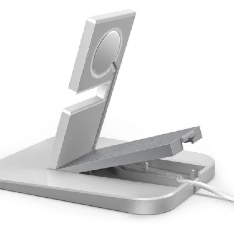 Stand para Apple Watch HGiRise Twelve South -  Prateado