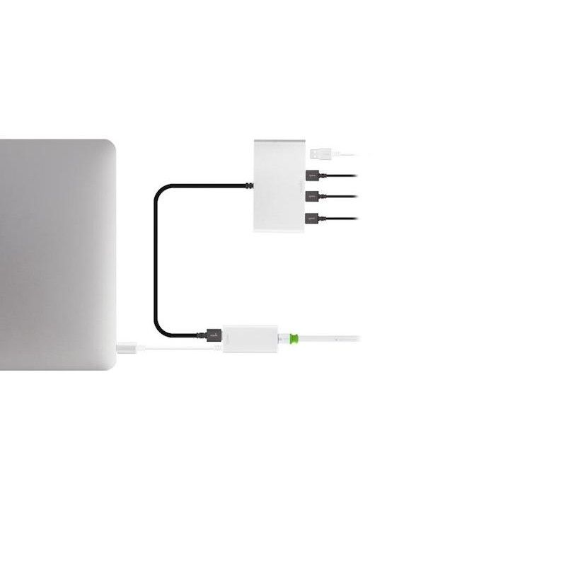 Adaptador USB-C para Ethernet Gigabit