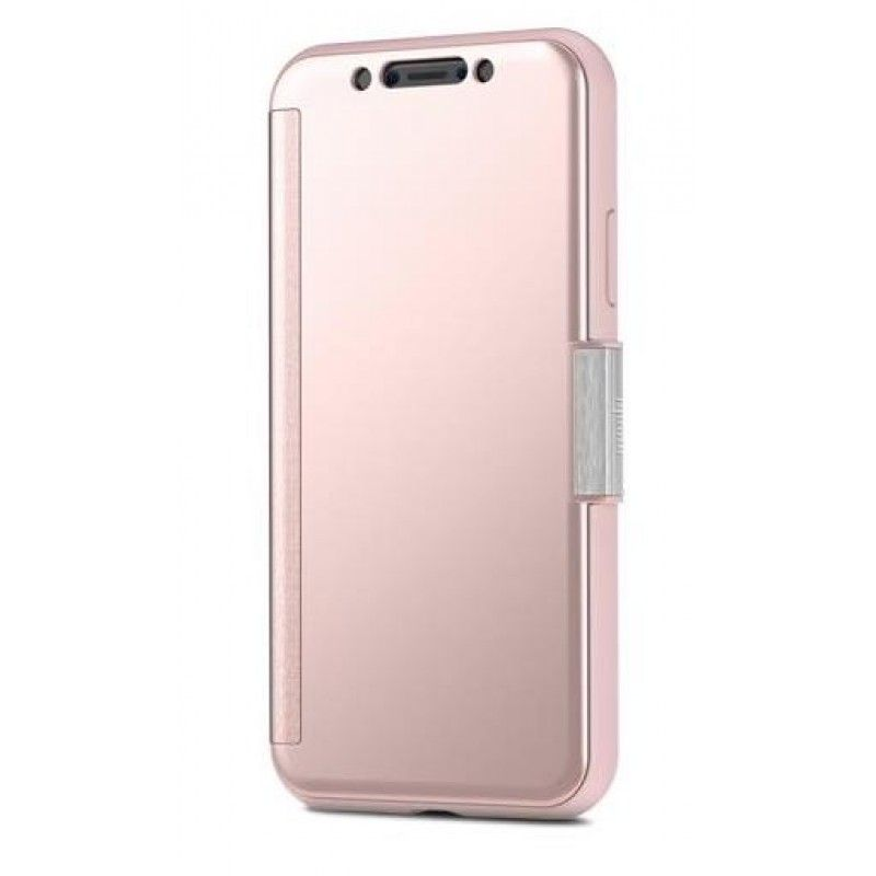Capa para iPhone X Moshi StealthCover - Rosa