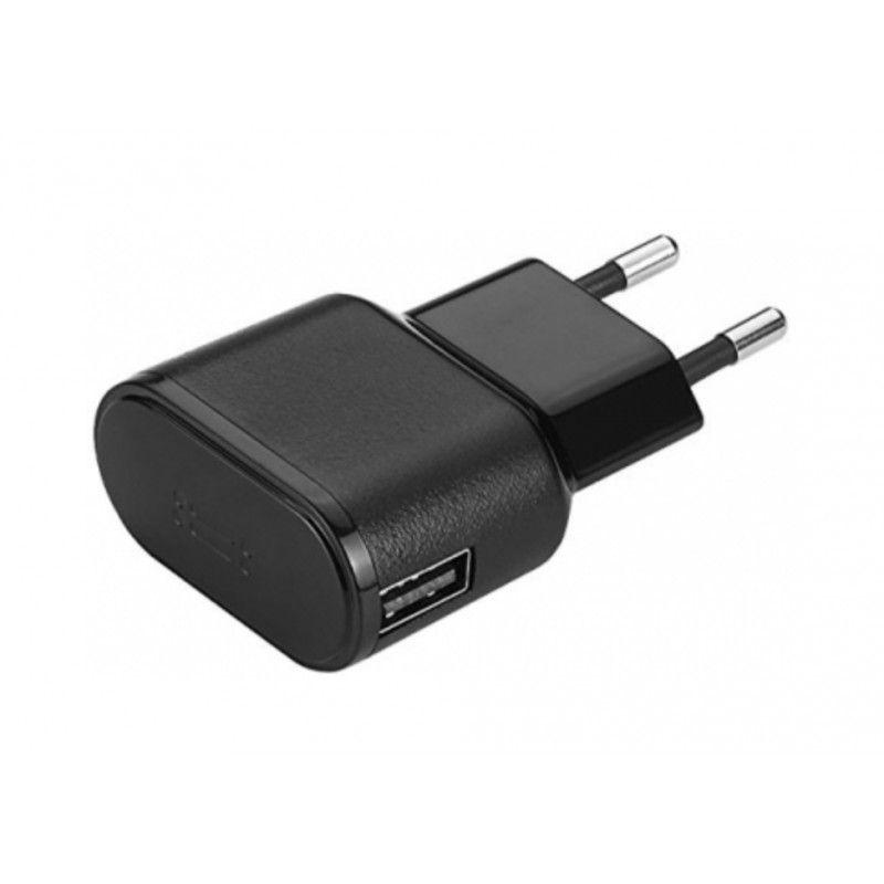 Carregador de parede USB 1 A - Preto
