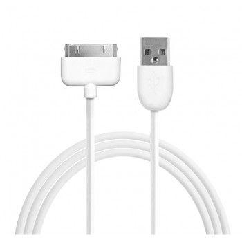 Puro Cabo 30 pin - USB (1m) - Branco