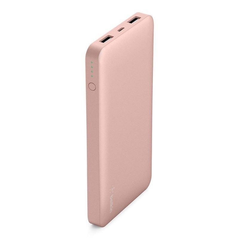Power Bank 10000mAh - Rosa Dourado