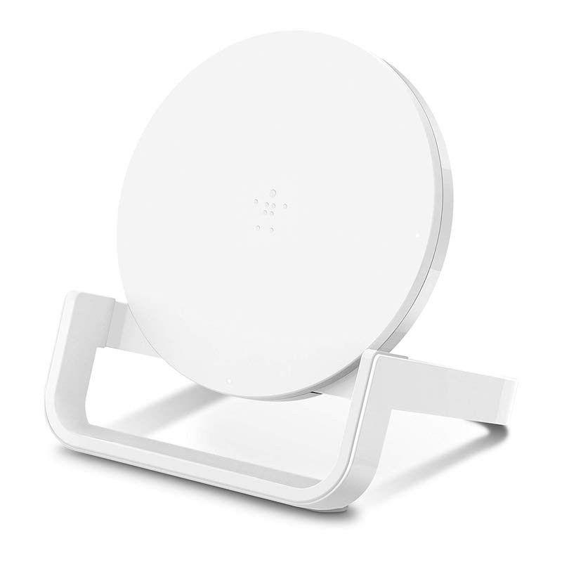Suporte com carregamento sem fios para iPhone 8/X/11, de 7,5 W - Branco