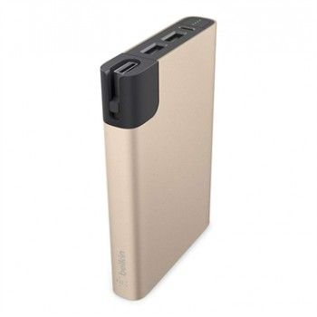 Power Bank 10000mAh + Lightning - Dourado