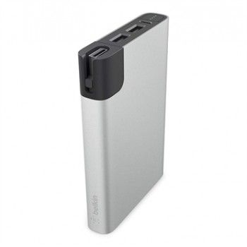 Power Bank 10000mAh + Lightning - Prateado