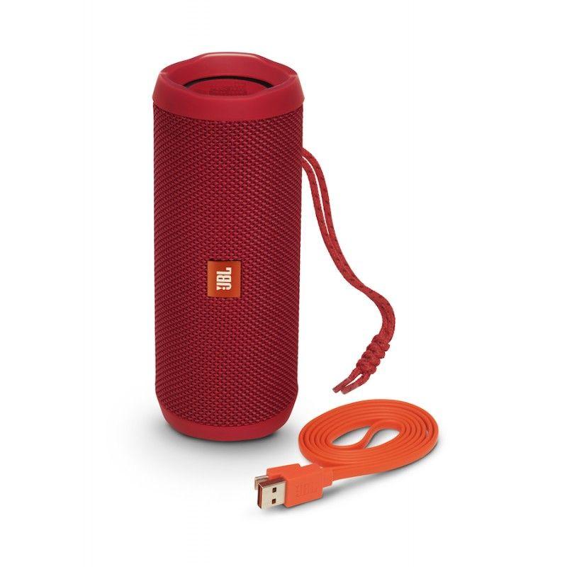 Coluna JBL Flip 4 - Vermelho