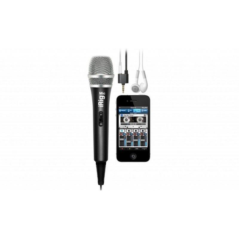 Microfone Condensador Portátil IK Multimedia iRig Mic
