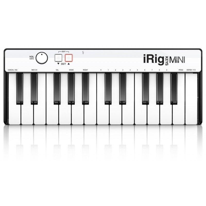 Teclado controlador MIDI de 25 teclas IK Multimedia iRig Key