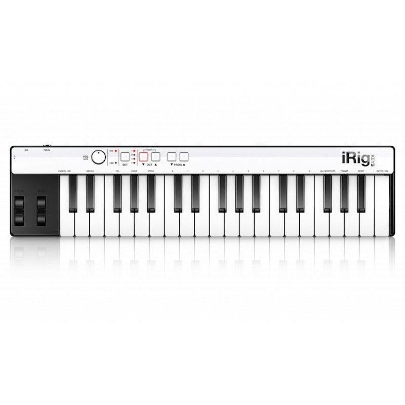 Teclado controlador MIDI 37 teclas IK Multimedia iRig Keys