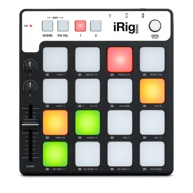 Controlador MIDI de grooves ultra-portátil IK Multimedia iRi