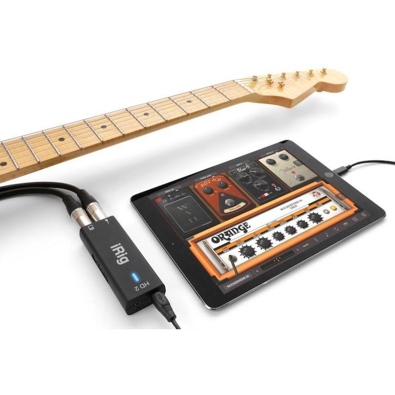 IK Multimedia iRig HD 2 - Interface digital móvel para guitarra