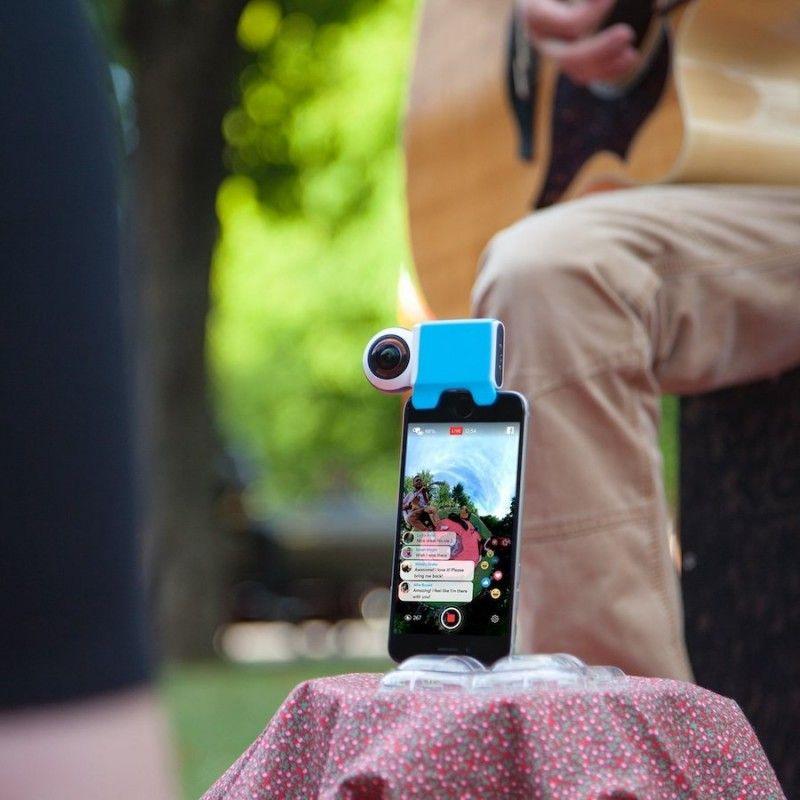 Giroptic iO 360 Camera com ligaçao Lightning