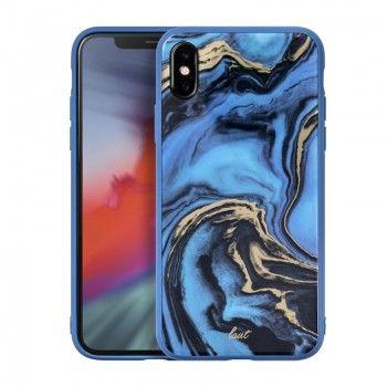 Capa Laut Mineral Glass para iPhone XS Max - Azul