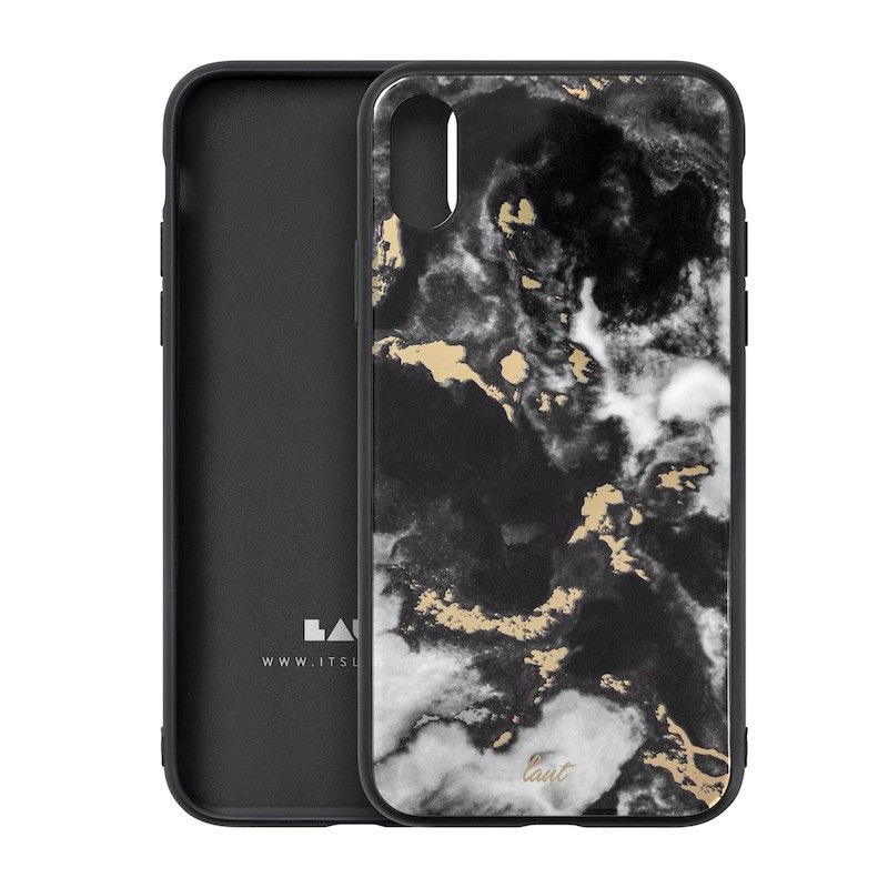 Capa Laut Mineral Glass para iPhone XS Max - Preto