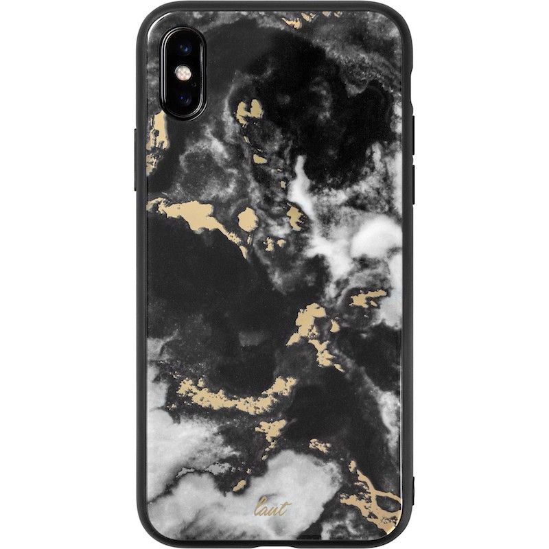 Capa Laut Mineral Glass para iPhone XS Max - Preto