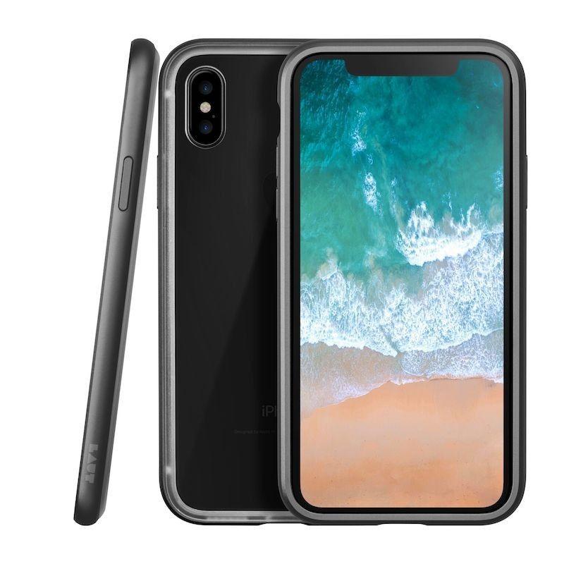 Capa Laut Exoframe para iPhone XS / X - Preto