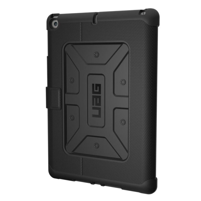 Capa iPad 2018/7 UAG Metropolis - Preto/Prata