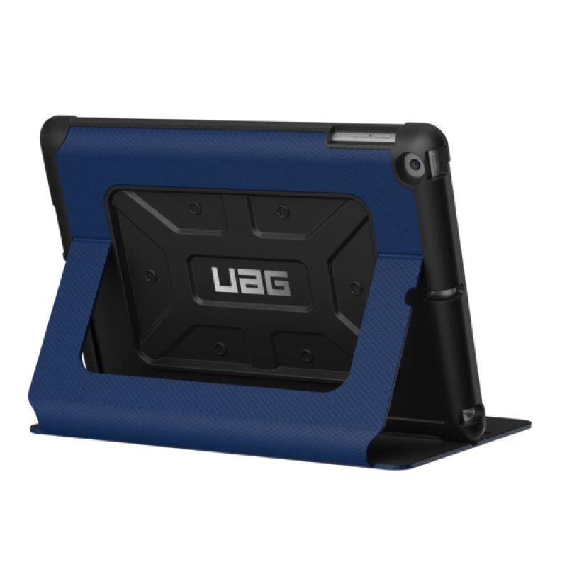 Capa iPad 2018/7 UAG Metropolis - Cobalto/Prata