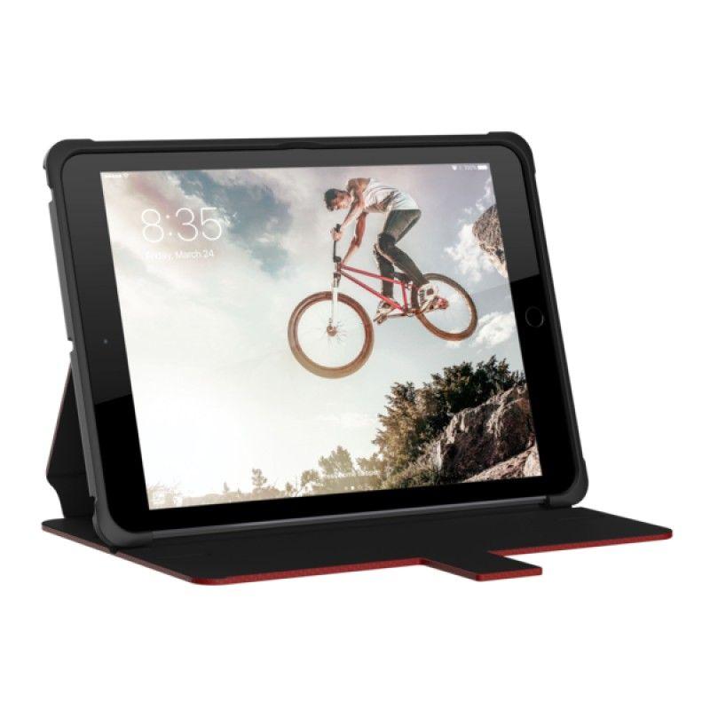 Capa iPad 2018/7 UAG Metropolis - Vermelho/Prata