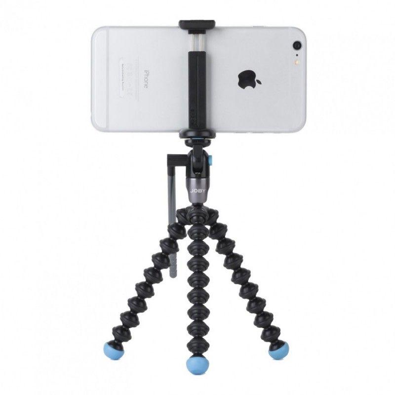 Tripé e suporte para vídeo JOBY GripTight GorillaPod Video - Preto Azul