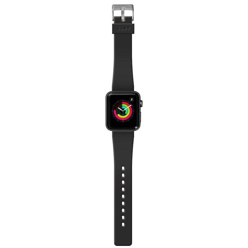 Bracelete para Apple Watch Laut Active, 44/42mm - Preto Onix