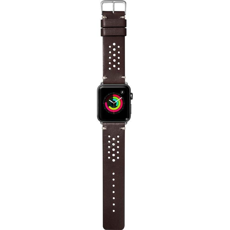 Bracelete para Apple Watch Laut Heritage, 44/42mm - Burgundy