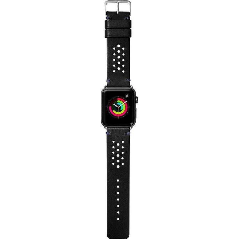 Bracelete para Apple Watch Laut Heritage, 44/42mm - Preto