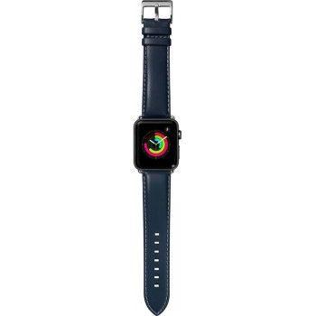 Bracelete para Apple Watch Laut Oxford, 44/42mm - Azul Indigo